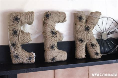 diy burlap wrapped foam letters inspiration made simple