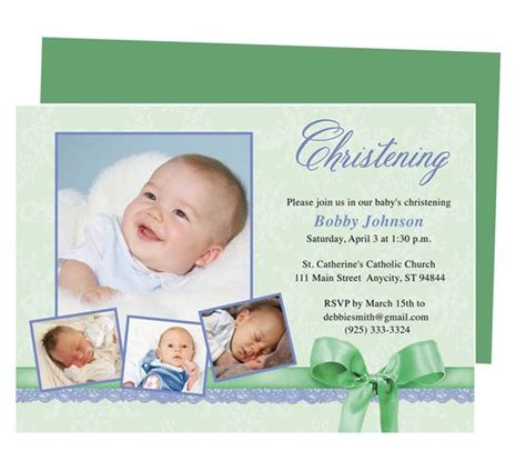 baby dedication invitation template baby baptism invitations template available in
