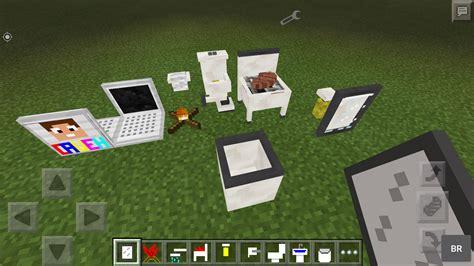 Minecraft Pe Furniture Mod by Cauehcraft Furniture Mod Addon Apk Mcpe 0 12 X Mcpe