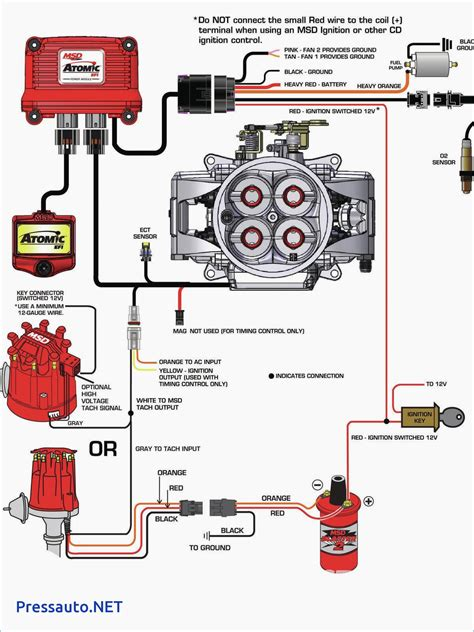 wiring diagram for mallory distributor free