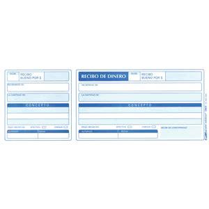 monto de pago de entrega de libreta recibo de dinero grafix 3 paquetes con 75 hojas formas