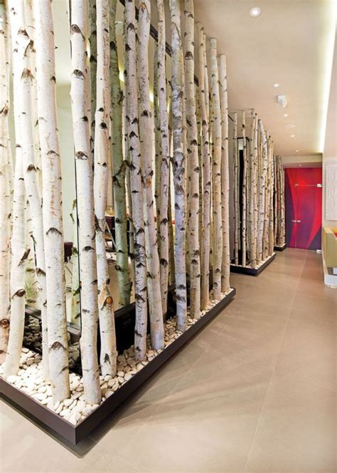 12 ways to use actual birch trees in your home