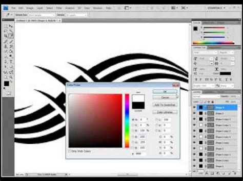 tutorial stencil photoshop cs3 adobe photoshop cs3 background design tutorial easil