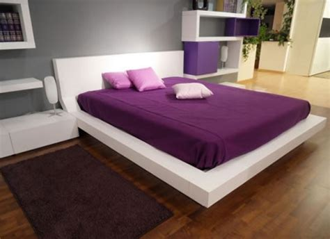 purple modern bedroom decorate the bedroom with the purple the cave