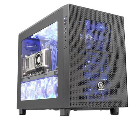 Cube Gaming Gladiator Transparant Window Include 3 X Rgb Fan best micro atx and atx cube for gaming pc htpc in 2018