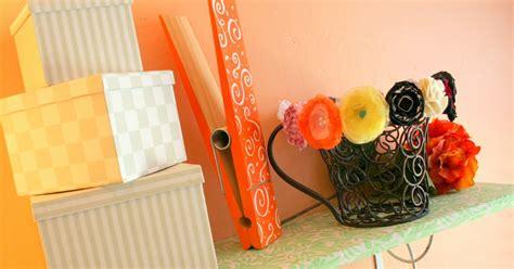 Cantaloupe Shelf by Cantaloupe Corner Fabric Covered Shelf Tutorial