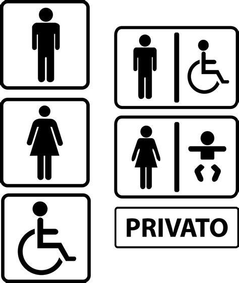 adesivi bagno adesivo stickers decal bagno uomo donna toilette restroom