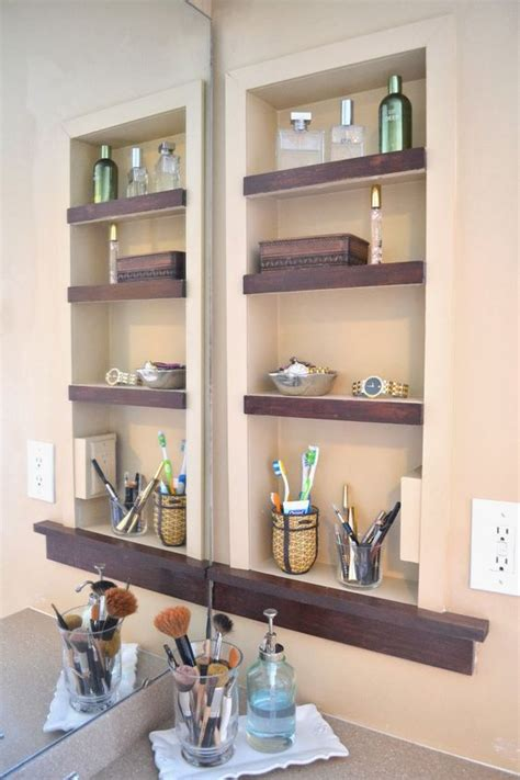 In Wall Shelves 29 Best In Wall Storage Ideas To Save Your Space Shelterness
