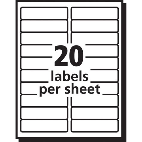 Avery Easy Peel Mailing Label Ave15661 Supplygeeks Com Avery 3m Templates