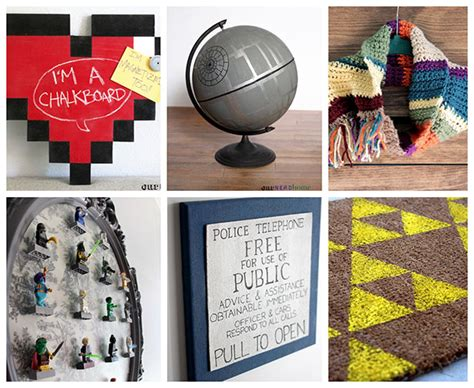Home Decor Diy Projects our one year birthday a look at our favorite geek diy