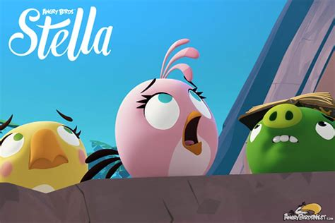 Stelan Angry Bird sneak peek at angry birds stella episode 13 to the bitter end season finale angrybirdsnest