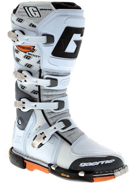 gaerne motocross boots gaerne white supermotard mx boot gaerne