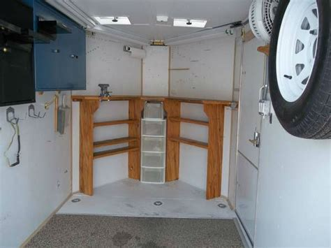 Travel Trailers With Bunk Beds Floor Plans 2003 Haulmark 6x14 V Nose Cargo Trailer With 13500 Roof Ac