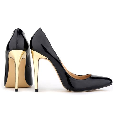Heels Black List Gold cheap high heels for 2017 tsaa heel