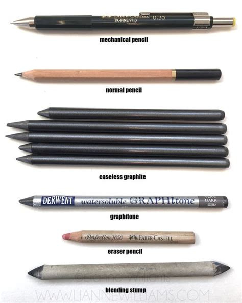 sketchbook pro blending tool mechanical pencil wooden pencil caseless graphite pencil