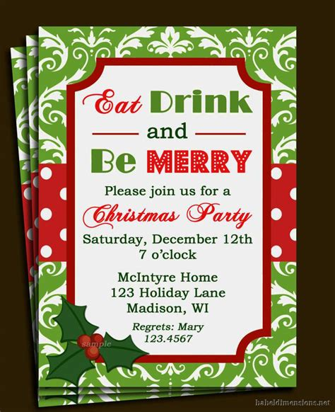 christmas invite template microsoft word invitation template invitations templates