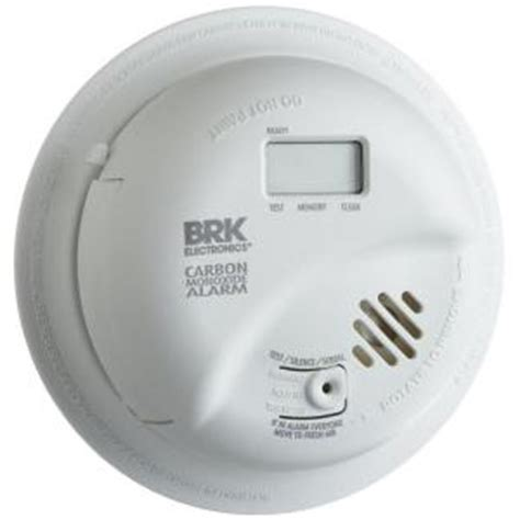 alert battery operated carbon monoxide alarm with