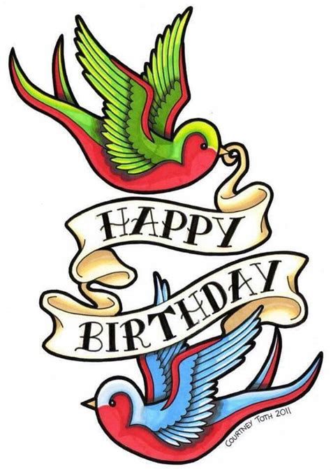 happy birthday tattoo images 25 best ideas about happy birthday on