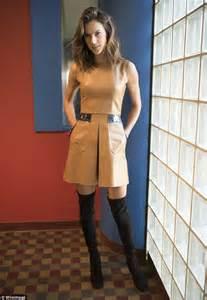 Alessandra Ambrosio Promotes Something Or Another by Alessandra Ambrosio Reveals Endless Legs As Promotes