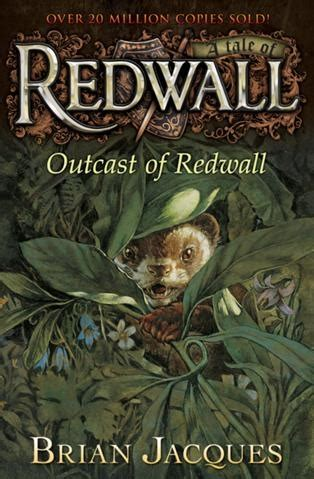 whispers of book iii of the outcasts series volume 3 books outcast of redwall by brian jacques books worth reading