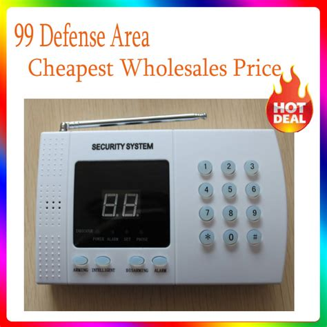 home security alarm system 99 defense area voice