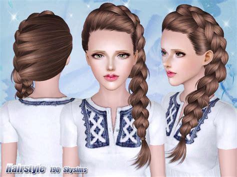 download sims 3 african braids skysims hair 190