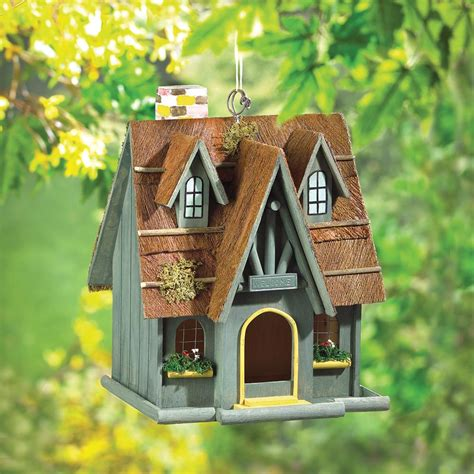 thatched cottage birdhouse wholesale at koehler home decor