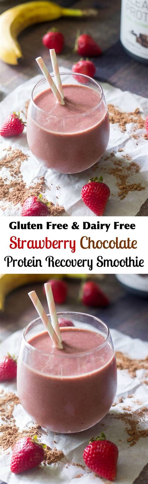 Detox Recipes For Recovery by Best 25 Chocolate Protein Shakes Ideas On