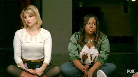 what episode is sectionals in glee season 3 dianna agron and amber riley photos photos glee season 3