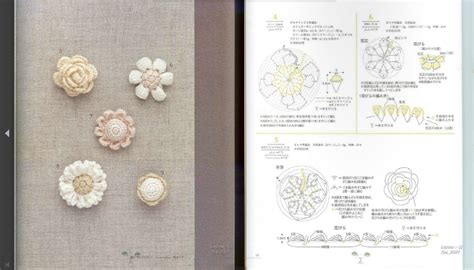 Small Botanical Crochet Motif Patterns Crochet Kingdom crochet flower pattern motif dancox for