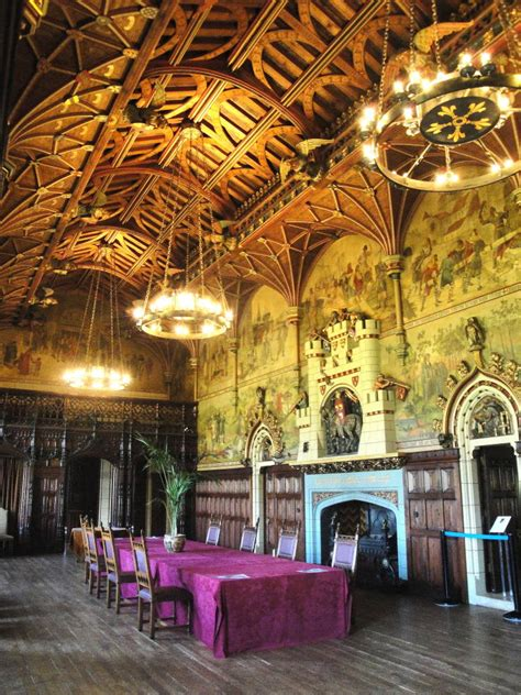 cardiff castle interior cardiff south wales  william