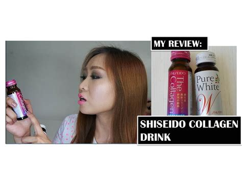 Collagen Whitening Drink Original Collagen Whitening Bpom shiseido collagen drinks review in hd