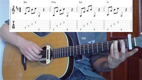 tutorial guitar mirror mirrors justin timberlake guitar lesson youtube