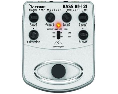 Behringer Bass Bdi 21 Mooer Hustle Drive behringer bdi21 v tone bass emulatore valvolare prelificatore di box attiva per basso