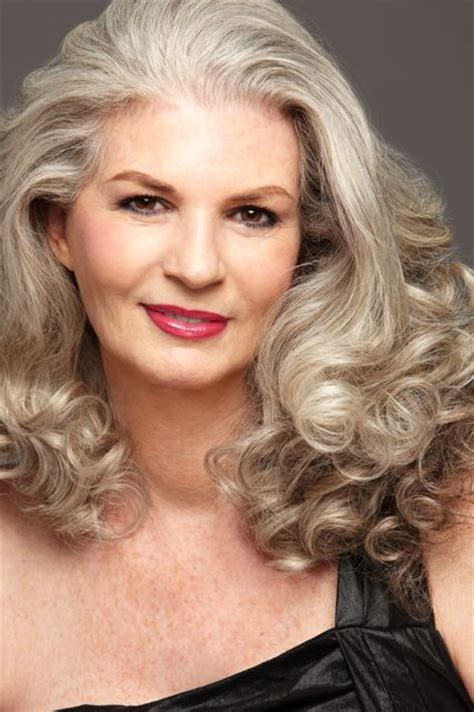 youthful hairstyles for gray hair long hairstyles for women over 50 young models gray