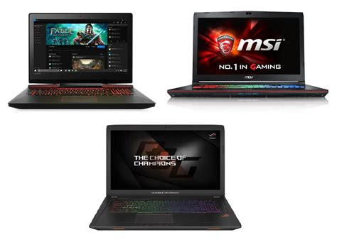 Laptop Lenovo Vs Asus lenovo ideapad y900 17isk vs msi ge72 7re vs