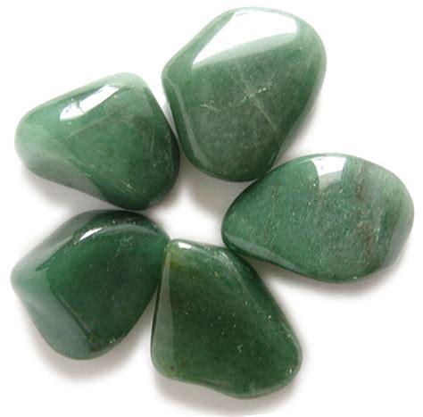 aventurine gemstones healing pouch