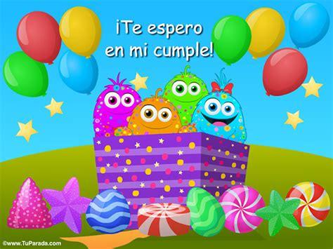 imagenes de cumpleaños gratis para wasap imagen de invitaci 243 n de cumplea 241 os imagen invitaci 243 n