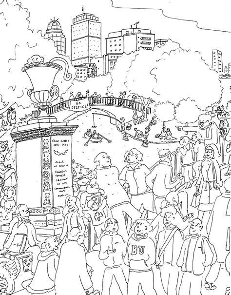 coloring book boston esplanade