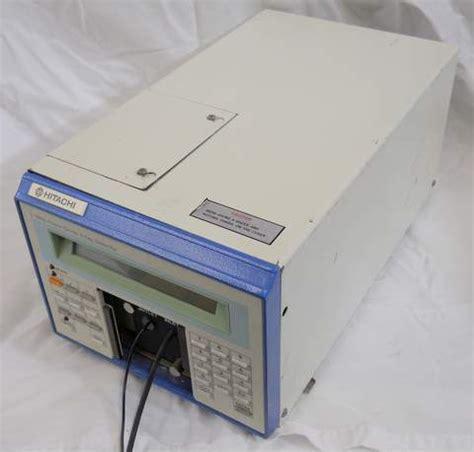 liquid chromatography diode array detector hitachi l 3000 photo diode array detector scientific equipment repair