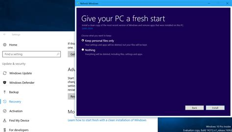 install windows 10 new computer how to reinstall windows like a pro pcworld