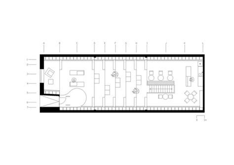 floor plan book bookshop and coffee bar plural totalstudio archdaily