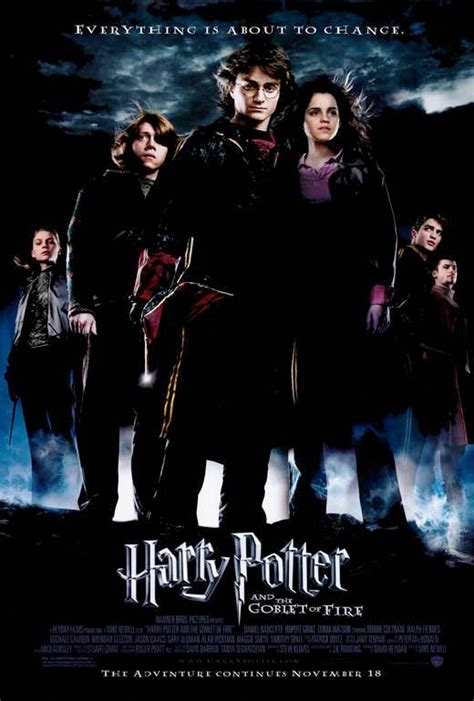 harry potter movies harry potter and the goblet of fire movie poster style b
