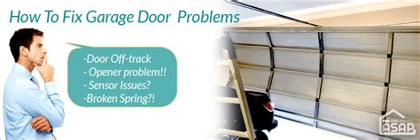 how to fix garage door problems tips from our experts