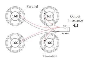 2 parallel speaker wiring diagram speaker free printable wiring diagrams