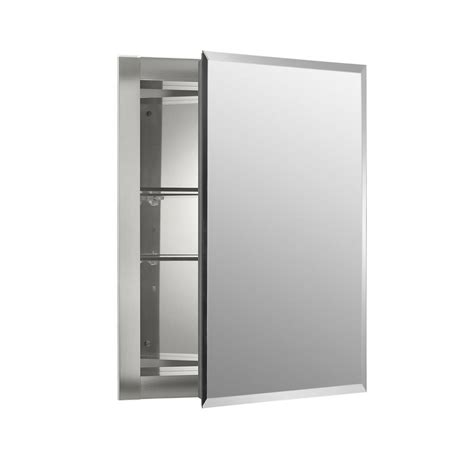 kohler surface mount medicine cabinet kohler archer 20 in x 31 in recessed or surface mount