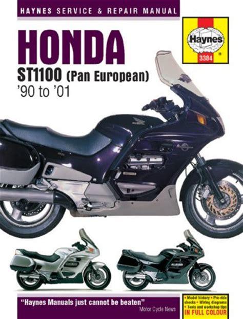 honda st1100 pan european 1990 2001 service and repair