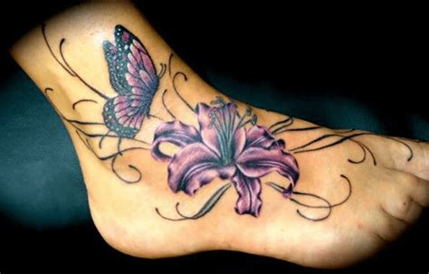 lily tattoo designs for feet designs and meanings
