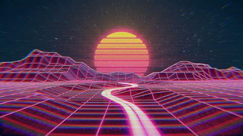 outrun wallpaper hd pixelstalknet