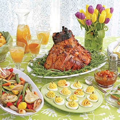 easter lunch buffet menu ideas 21 festive easter menus myrecipes